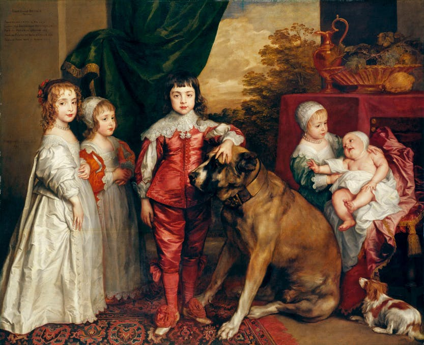 The Five Eldest Children of Charles I, a painting by Sir Anthony van Dyck.